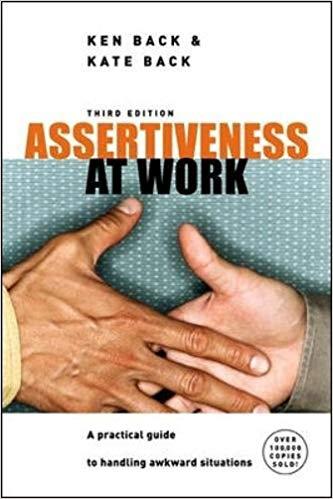 assertiveness at work book