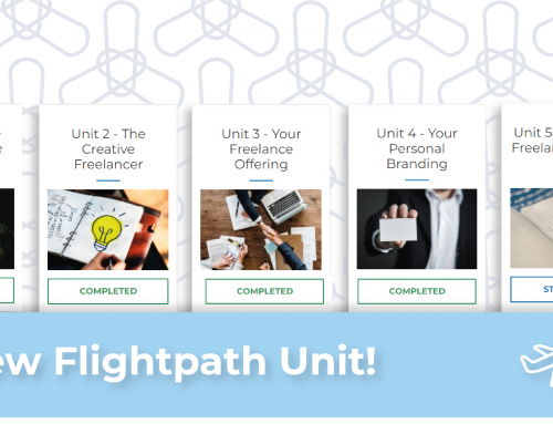 New Flightpath unit shows what to do for your first freelance job