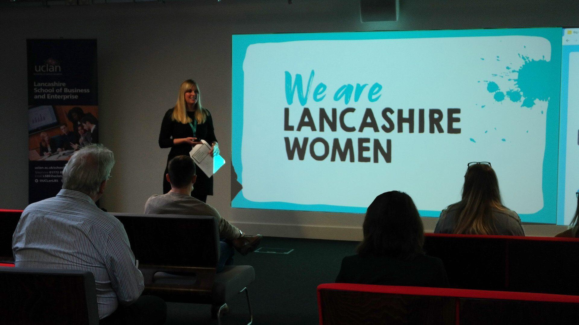 we are lancashire women