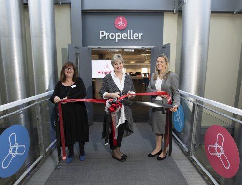 Propeller Hub Grand Opening