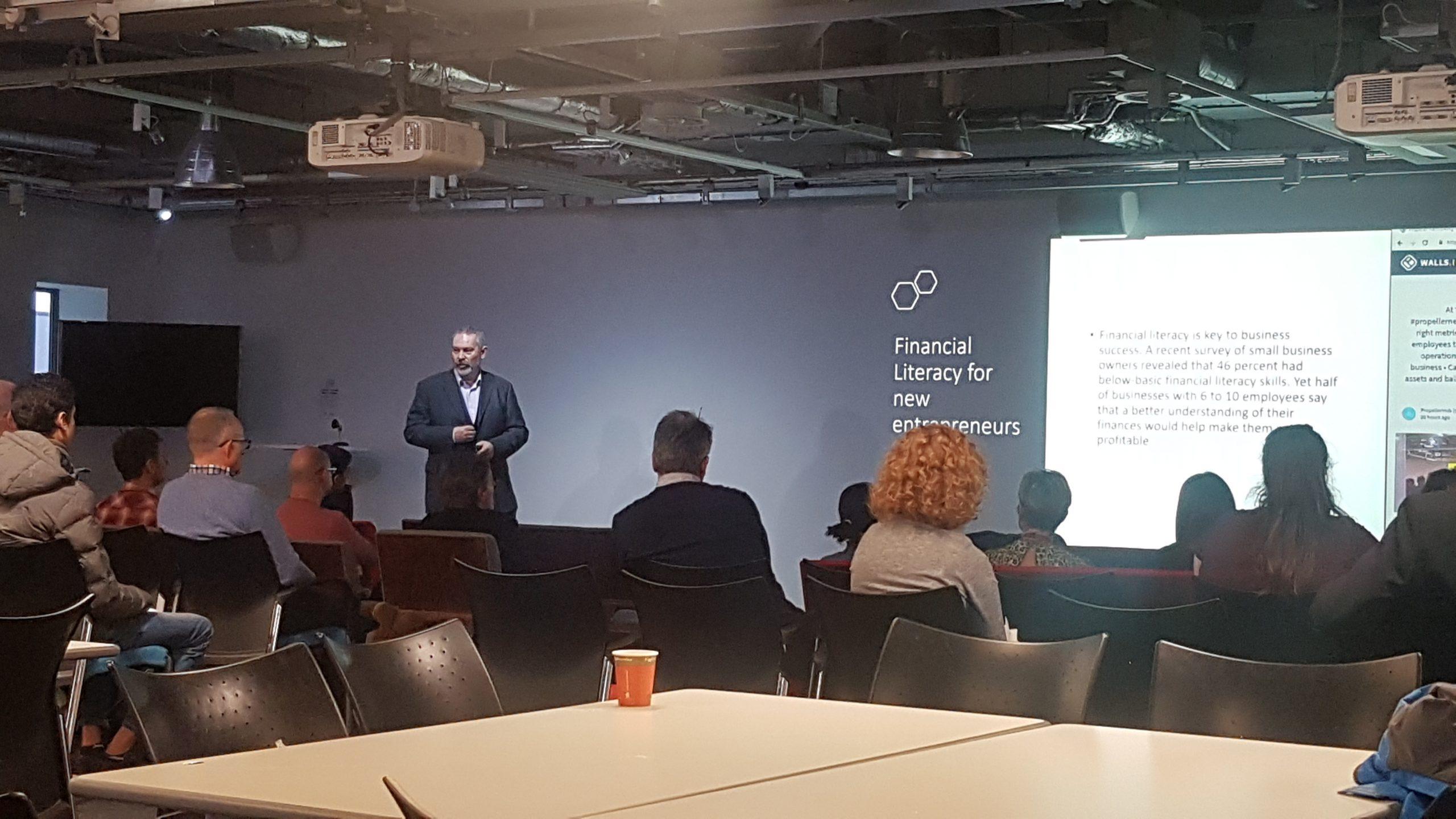 presentation on financial literacy for new entrepreneurs